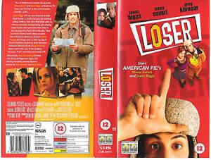 LOSER-VHS-PAL-JASON-BIGGS-MENA-SUVARI-DAN-AYKROYD-GREG-KINNEAR-NEW-RARE