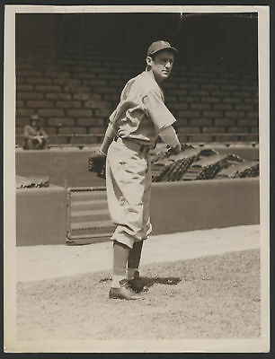 1938 Orig 1St Gen Press Photo   Sam Chapman  Athletics