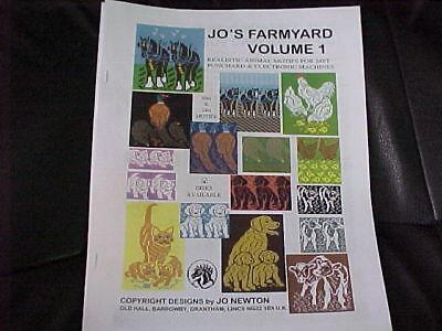 Jo's Farmyard Volume 1 Realistic Animal Motifs Nice