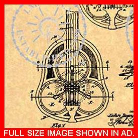 NATIONAL-RESONATOR-GUITAR-Patent-Resophonic-2-of-2-731