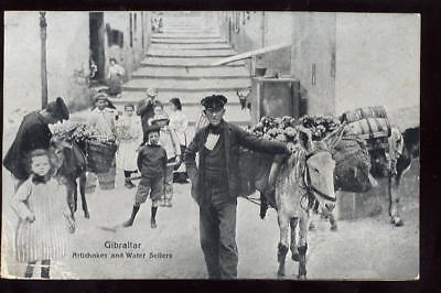 Gibraltar Artichokes and water Sellers early PPC