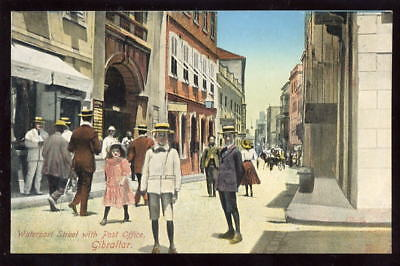 Gibraltar Waterport St Post Office early PPC
