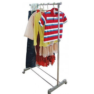 Adjustable-Rolling-Metal-Garment-Clothes-Rack-Hanger