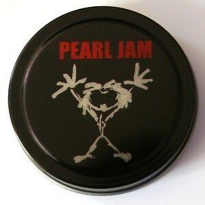 PEARL-JAM-Tin-of-16-Full-Colour-Guitar-Picks-2-Sided
