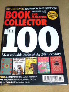 Most valuable books to collect