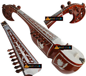 DESIGNER-RABAB-RUBAB-REBAB-TUN-WOOD-MOTHER-OF-PEARL-HANDICRAFT-WORK-ON-BOTH-SIDE