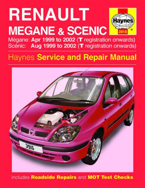 Haynes Workshop Repair Manual Renault Megane & Scenic