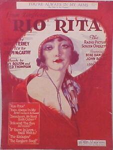 1920s Music Information