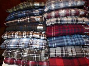 New st johns bay flannel shirts lt 2xl 2xlt 3xl 3xlt 4x ebay for Mens 4xlt flannel shirts