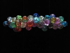 LAMPWORK-GLASS-FRENCH-CLIP-HAIR-BARRETTE-THICK-HAIR-LB1