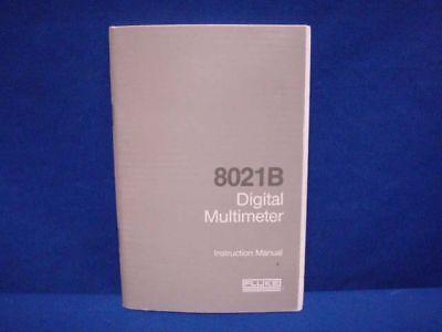 Fluke 8012b Digital Multimeter Instruction Manual