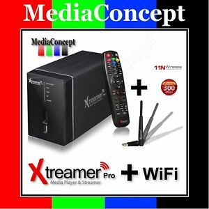 Xtreamer PRO Media Player & Streamer + WiFi Antenna NEW