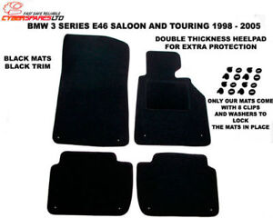 BMW-3-e46-saloon-touring-black-tailored-car-mats-8clips