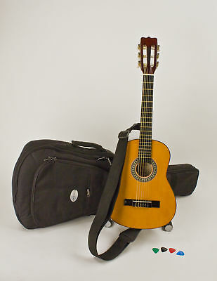 Child's Guitar 1/4 Size Right Handed Ages 3-5 Safe & Stay In Tune Nylon Strings