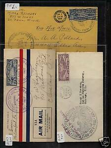 US early flight cover lot LOOK