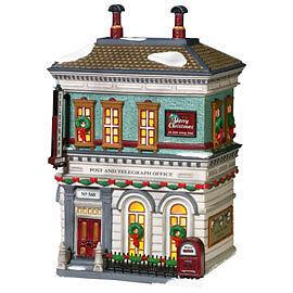 Dept 56   City Post   Telegraph Office