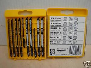 Cassette Pack Of 10 Dewalt Dt2290 Wood Cutting Jigsaw