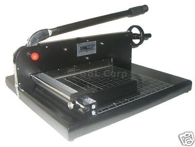 GUILLOTINE STACK PAPER CUTTER MACHINE TIMMER:FULL WARRANTY COME2770EZ HEAVY DUTY