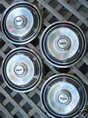 FORD FAIRLANE FALCON TORINO HUBCAPS HUBCAP WHEEL COVERS