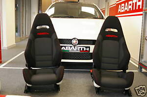 Set Of 2 Seats For Punto Abarth