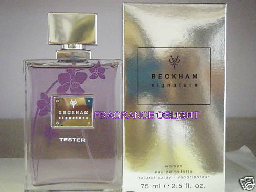 Popular Beckham Signature David Beckham Women EDT 2.5 oz 75ml Spray New Tester
