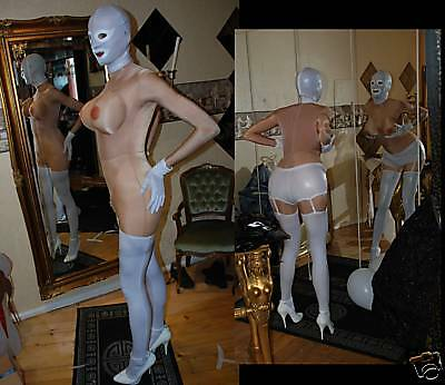 Crossdressingmode Body Nackt Catsuit mit Busen Polster