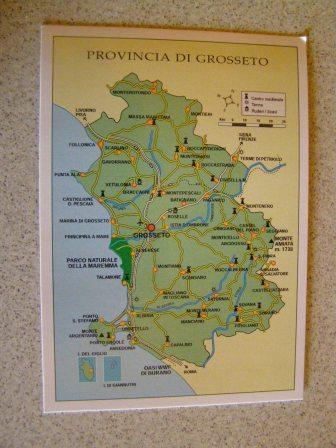 La Toscana Cartina Geografica.Cartolina Toscana Cartina Geografica On Popscreen