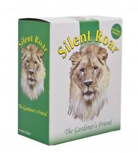 Silent Roar Cat Deterrent Repeller Lion Manure Pellets Garden Fertiliser 500g
