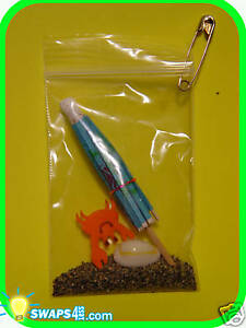 "Beach in a Bag with Crab ""Girl Scout"" SWAPS Craft Kit by ..."