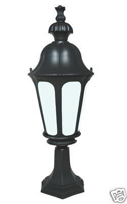 Outdoor Lighting Fixtures Pier Lantern Exterior Black