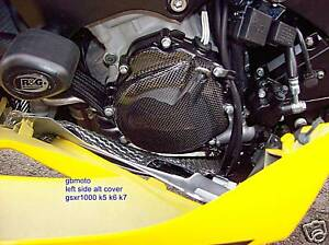 gsxr1000 gsxr 1000 k5 k6 k7 k8 2005 - 2008 carbon alternator side cover gbmoto