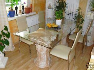 Esstisch marmortisch esszimmer tafeltisch steinm bel for Marmortisch esstisch