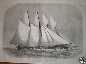 3-prints-International-Yacht-match-Sappho-Cambria-1870