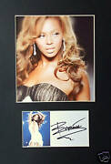 Beyonce Signed