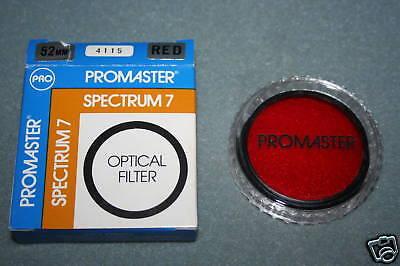 Promaster Spectrum 7 Optical Camera Lens Filter Red