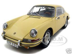 1964 Porsche 901 Champagne Yellow 1 18 Diecast Model Car By Cmc 067a