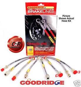 Corrado-VR6-Goodridge-Braided-Brake-Hose-Line-Kit-G9-5-SVW1025-6P-6-Line-Kit-VW