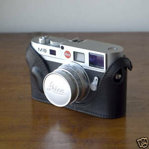 Mr-Zhou-Black-Leather-Half-Case-for-Leica-M8-M8-2-M9