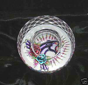 ED-HARDY-PANTHER-TEA-LIGHT-CANDLE-HOLDER-PAPERWEIGHT
