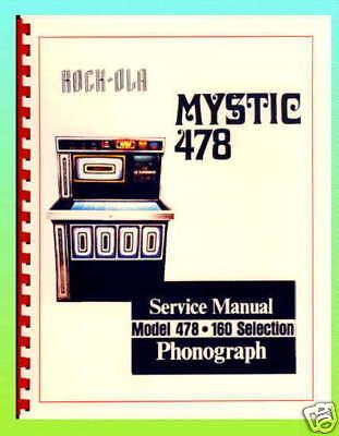 Rock-Ola 478 Jukebox Service & Parts Manual