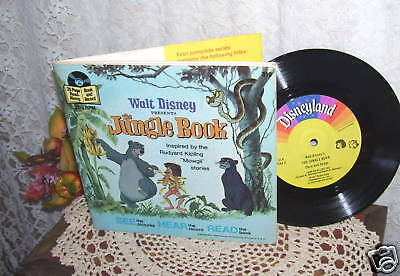 DISNEY'S JUNGLE BOOK BOOK & RECORD
