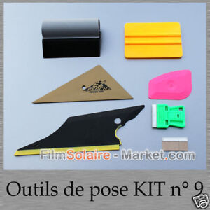 raclettes t flon outils de pose film solaire ebay. Black Bedroom Furniture Sets. Home Design Ideas