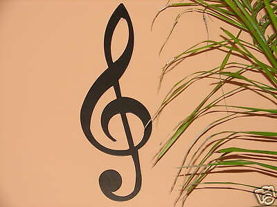 Treble Clef Metal Wall Art Music Notes Musical Decor