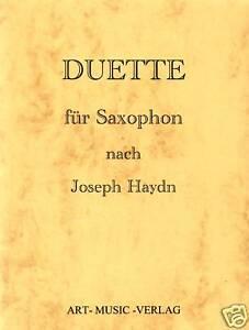 NOTEN-SAXOPHON-DUETTE-NACH-JOSEPH-HAYDN