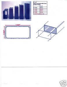 """Aluminum Project box, Enclosure 2""""X4""""X6"""" Model # GK4-6"""