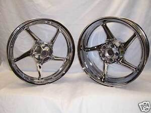CHROME-PLATED-MOTORCYCLE-WHEELS-GSXR-ZX-R6-R1-CBR