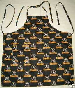 Apron-Chef-BBQ-Cook-with-NFL-Teams-Cotton-Fabric-Football-Sports-Choice-You-Pick