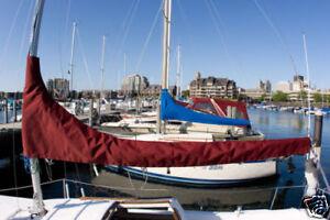 New Catalina 30 Sailboat Mainsail Cover