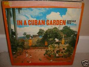 Gonzalo-Roig-In-A-Cuban-Garden-Rare-LP-in-Good-Conditions-L3