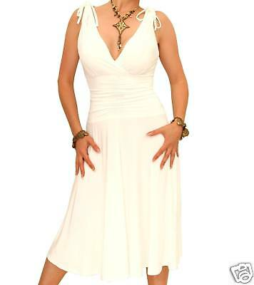 New-Elegant-Grecian-Style-Evening-Dress-Knee-Length